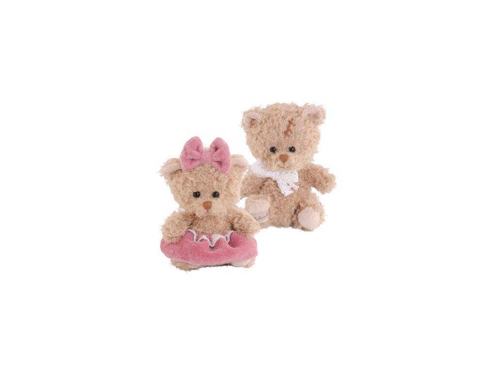 BK CUPCAKE BOY medvídek s mašlí na krku