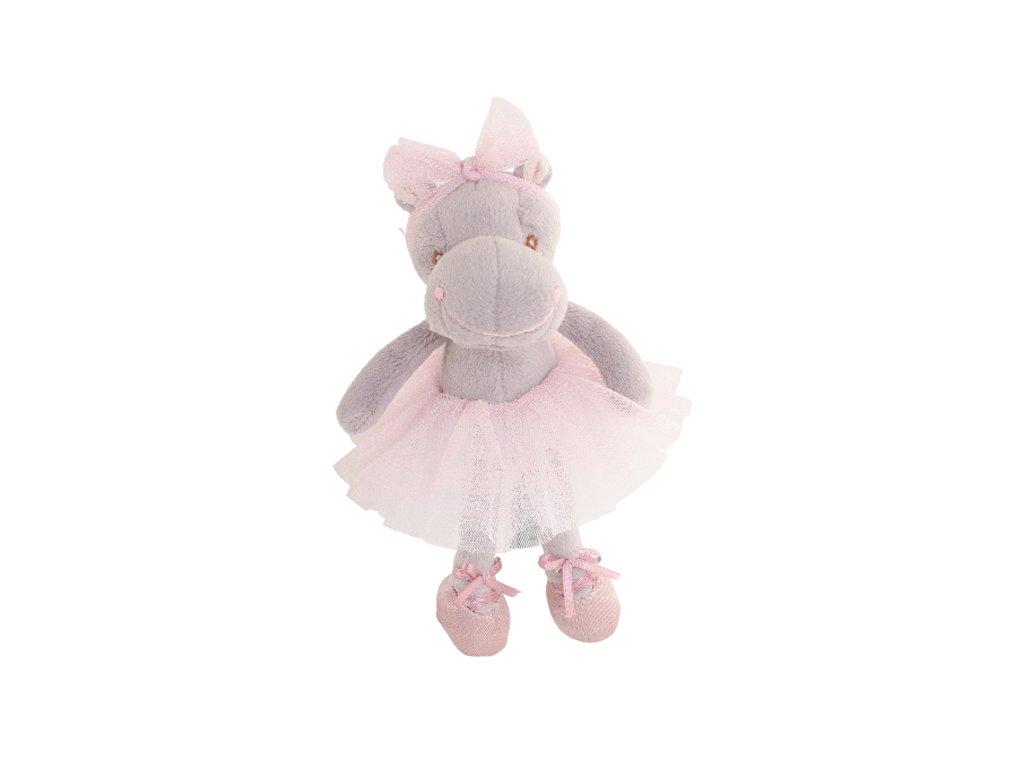 BK CUTE RAFAELLA hroch v růžové sukni (15cm) Bukowski Design NOVINKA