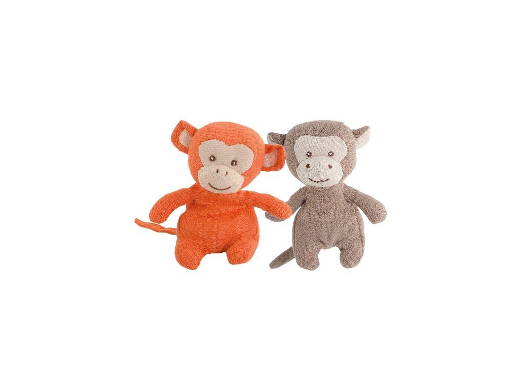 BK BABY HOPPY opička oranžová (15cm)