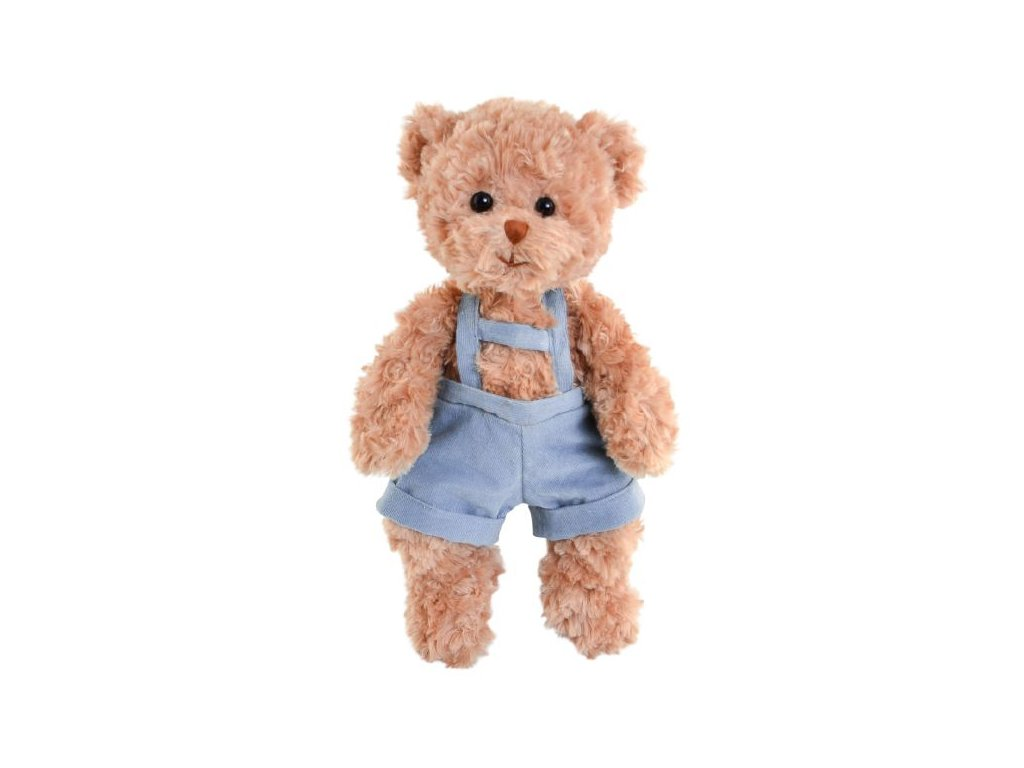 BK HANDSOME BABY JURA medvěd hnědý v lacláčích (35cm) NOVINKA