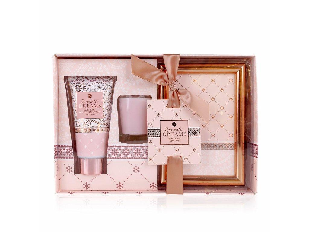 Koupelový set ROMANTIC DREAMS v dárkové krabičce