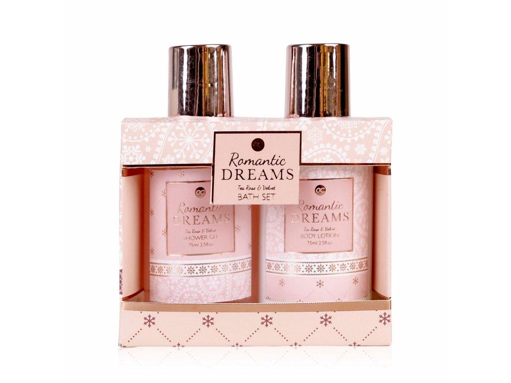 Koupelový set ROMANTIC DREAMS malý