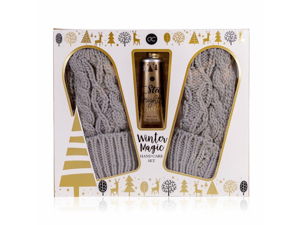 Set péče o ruce WINTER MAGIC s rukavicemi