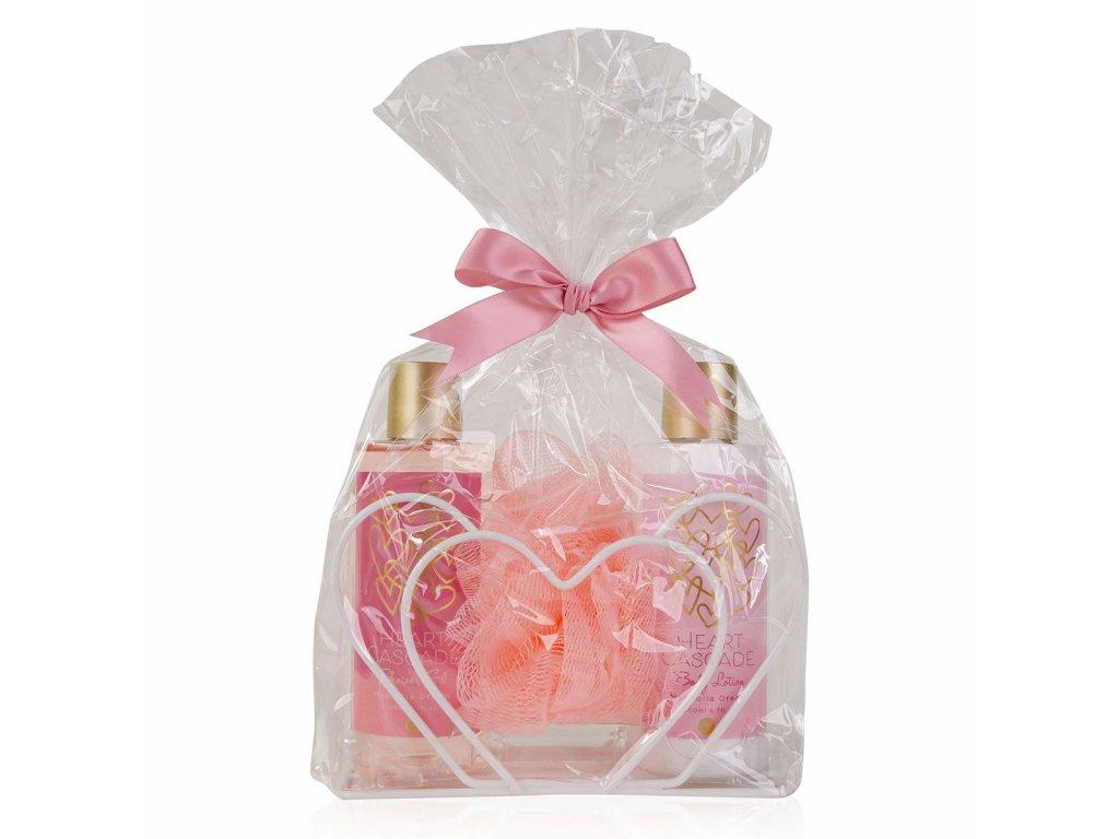 Set koupelový HEART CASCADE