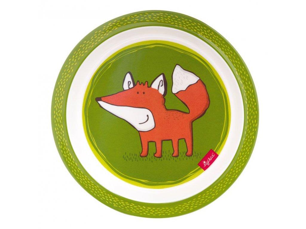 MELAMIN baby TALÍŘEK liška FOREST FOX