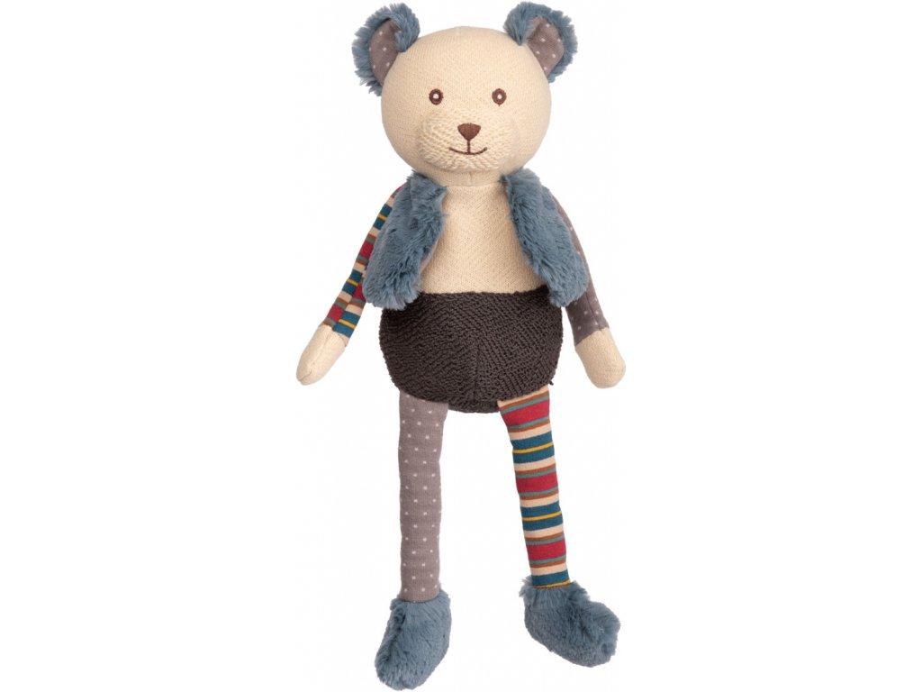 BK BABY ADAM medvěd z bavlněného úpletu