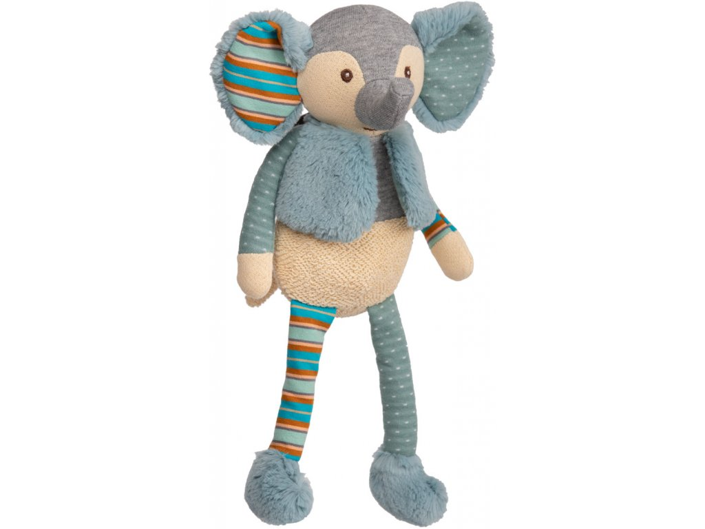 BK BABY MAXIMILIAN slon z bavlněného úpletu