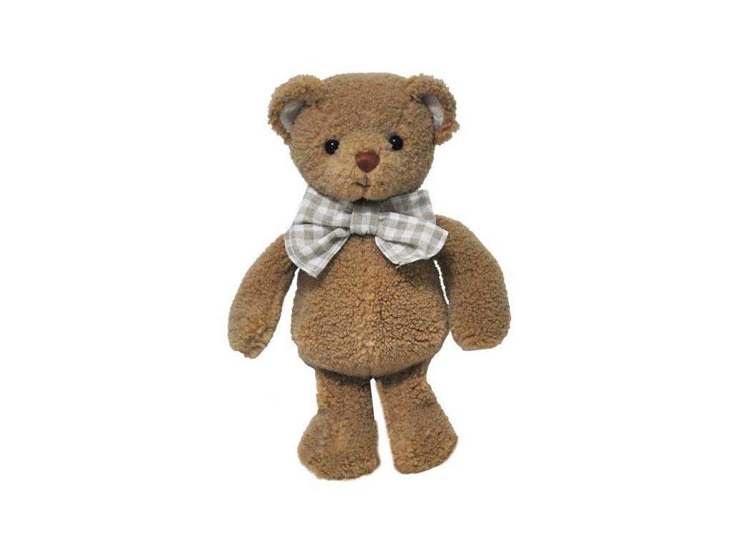 BK LITTLE DR. HUBERT medvěd s kostkatou mašlí