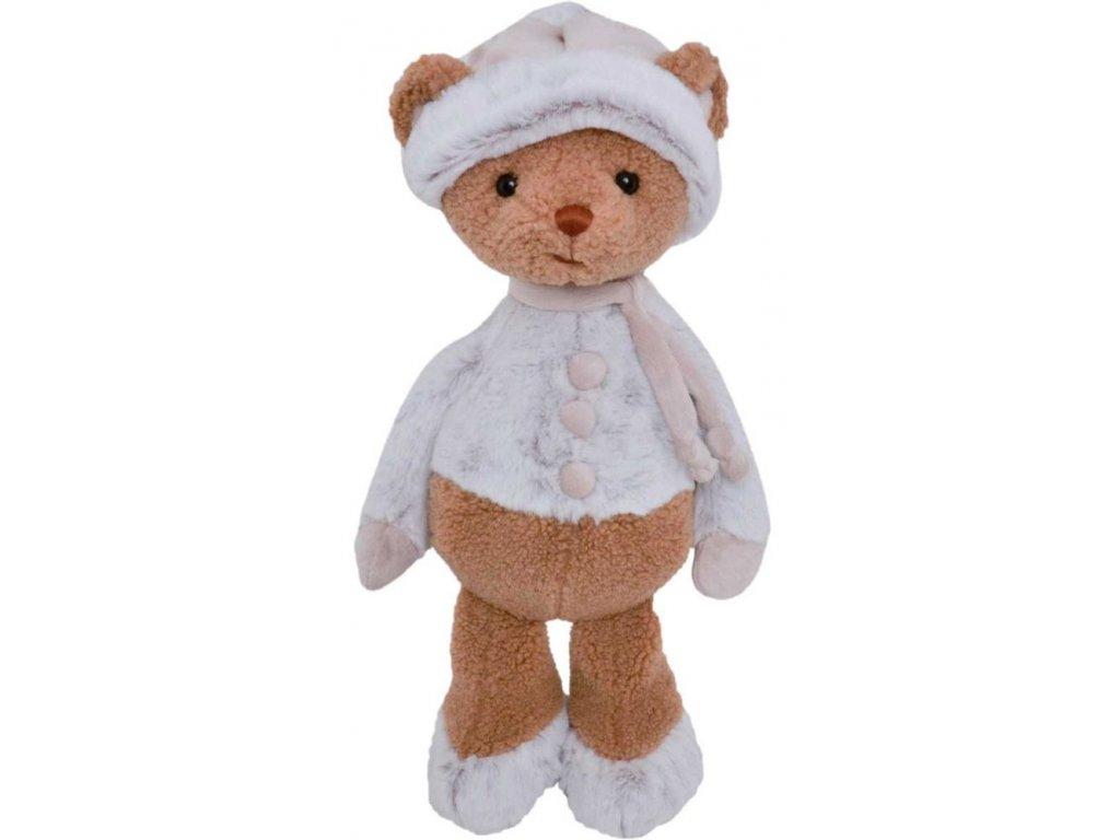 BK VALLE medvěd v čepici a svetříku