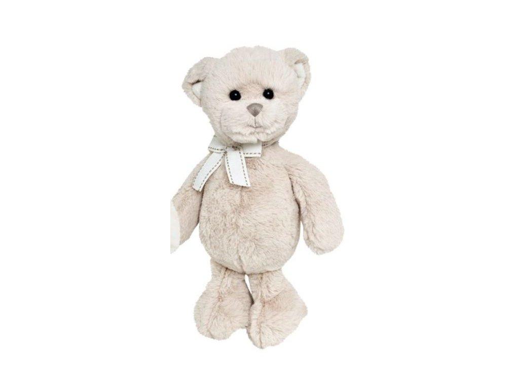 BK LILLEBROR medvěd krémový s mašlí