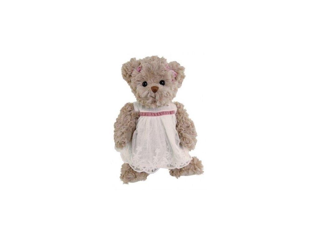 medvídek JOSEFIN (bílé šaty)