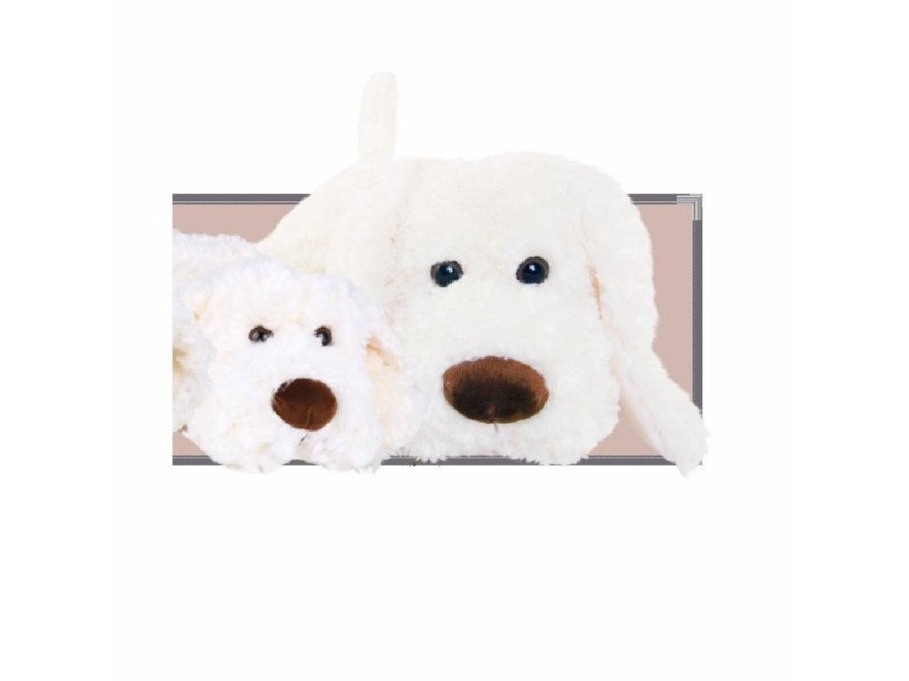 BK THE GREAT HUGO bílý pes