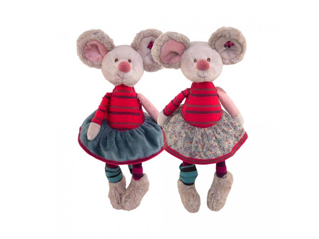 myš CRAZY MOUSY (květinová sukně)