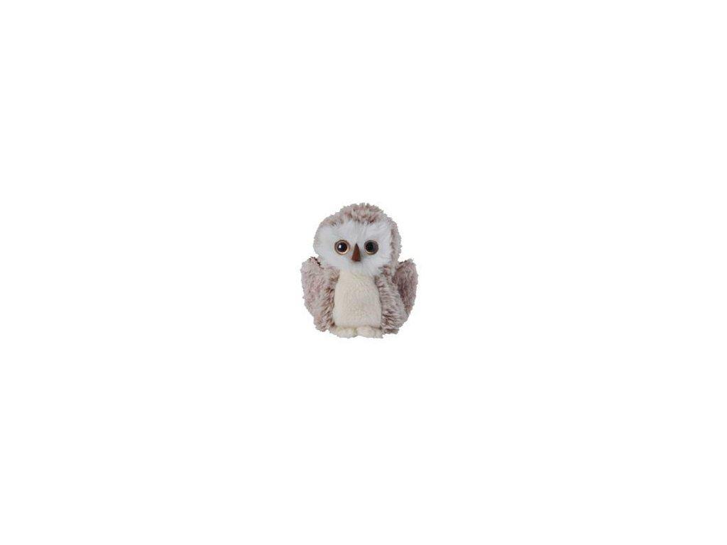 BK SWEET HOHO šedo-bílá sova