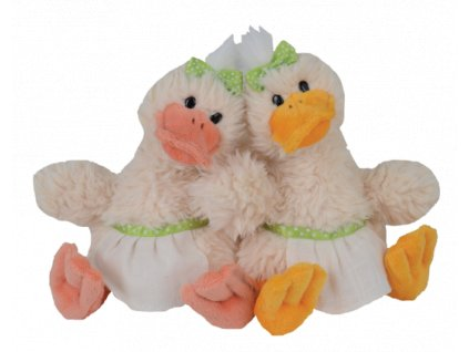 BK QUACK SISTERS kachna s oranžovým zobákem