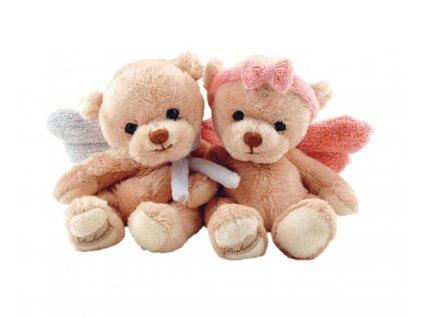 BK GUARDIAN ANGEL medvěd/andílek růžový