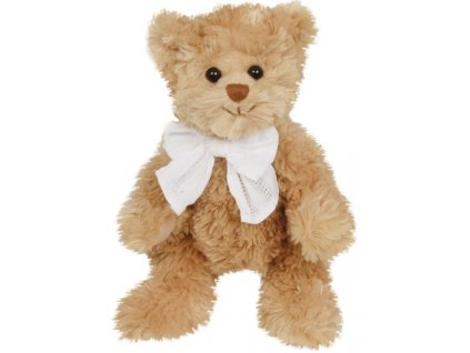 BK LITTLE DANIEL medvěd s bílou mašlí