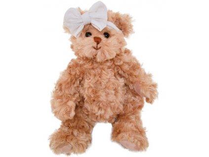 BK LITTLE DANIELS GIRLFIEND medvídek s bílou mašlí