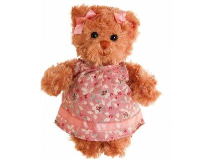 BK LITTLE HEDVIG medvídek v růžových šatech