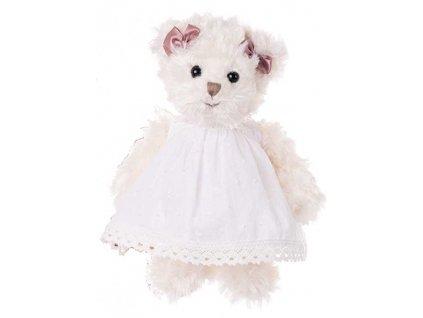 BK MAJA medvídek v bílých šatech