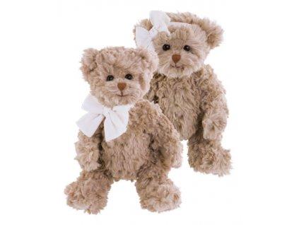 BK LE PETIT ROMY medvídek s mašlí na hlavě