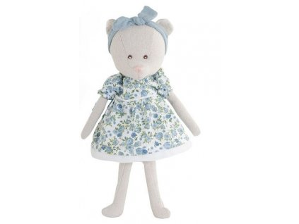 BK LORRAINE medvídek, květinové šaty
