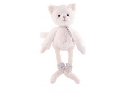 BK OLLIE kočka kluk šedá šála (25cm)