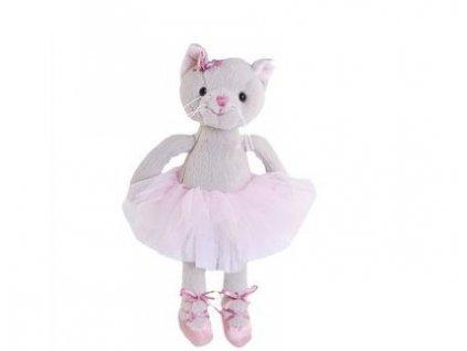 BK ALBERTINA  kočka baletka šedá (15cm) Bukowski Design NOVINKA