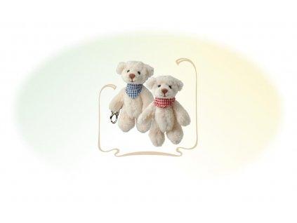 BK BENEDICT medvídek (klíčenka) se šátkem