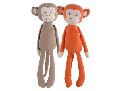 BK HIPPY opička hnědá (35cm)