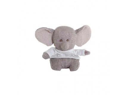 BK LITTLE ABBAS slon v pruhovaném tričku