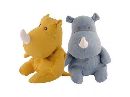 BK SWEET NOSY žlutý nosorožec