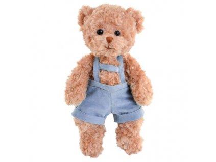 BK HANDSOME BABY JURA medvěd hnědý v lacláčích (35cm)