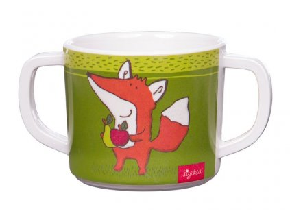 MELAMIN baby HRNÍČEK liška FOREST FOX