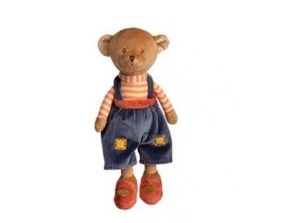 BK BABY MAVI medvídek, modré kalhoty
