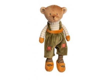 BK BABY MAVI medvídek, zelené kalhoty