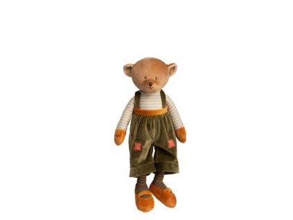 BK MAVI medvídek, zelené kalhoty