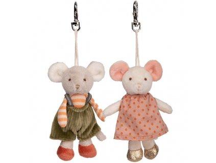 BK INGEFRID a HENRY myšky klíčenka