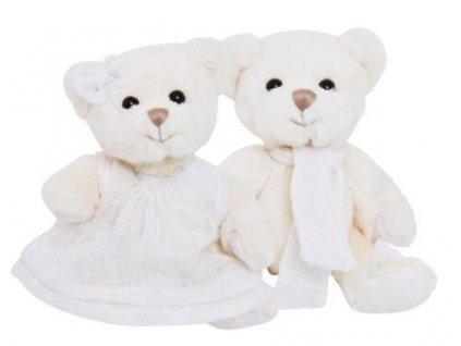BK MELISSA medvěd v bílých šatech