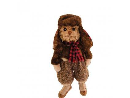 BK STAFFAN medvídek oblečený - retro