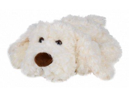 pes HUGO bílý velký