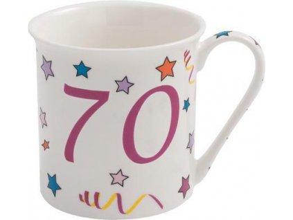 Hrnek porcelán VÝROČÍ  70