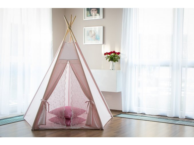Teepee Pink lollipop
