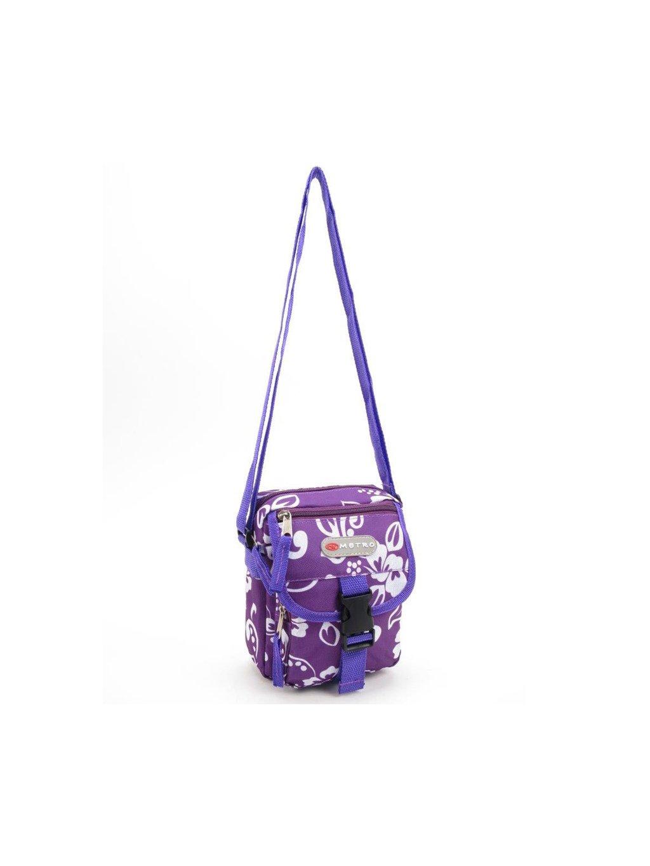 Taška přes rameno METRO 7580 malá - fialová