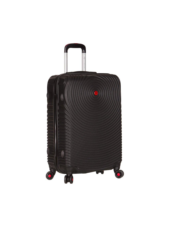 Cestovní kufr SIROCCO T-1157/3-L ABS - černá