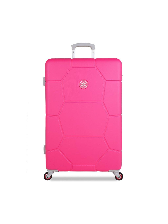 Cestovní kufr SUITSUIT® TR-1248/3-L ABS Caretta Hot Pink