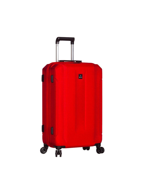 Cestovní kufr SIROCCO T-1177/3-M ABS - červená