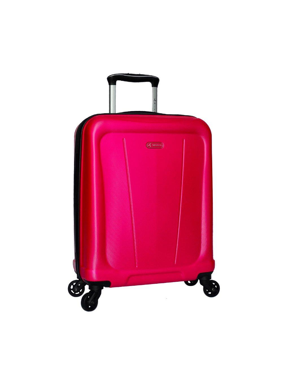 Kabinové zavazadlo SIROCCO T-1213/1-S ABS - růžová