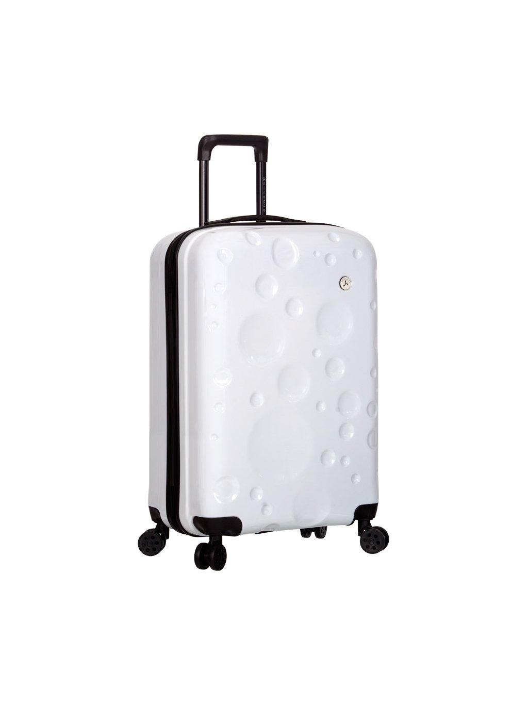 Kabinové zavazadlo SIROCCO T-1194/3-S PC - bílá