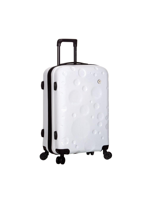 Cestovní kufr SIROCCO T-1194/3-M PC - bílá